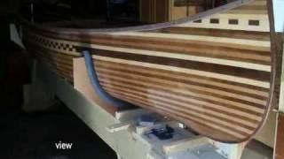 Cedar Strip Kanu Holz