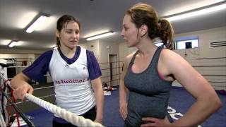 Sinead Desmond Trains With Olympic Gold Medalist Katie Taylor Ireland