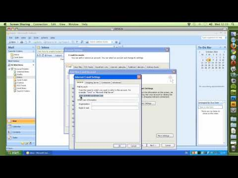 Setup email using Outlook 2003 and SMTP Corp as outgoing server