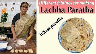 Making of wheat Lachha Paratha by Revathy Shanmugam