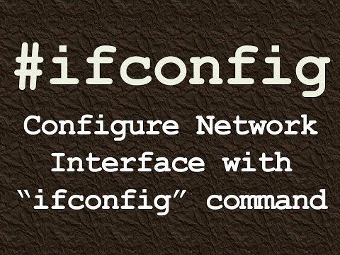 ifconfig : How to Configure Network Interface with ifconfig Linux command.