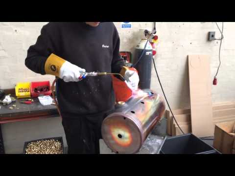Making a boiler for a LONDINIUM lever espresso machine