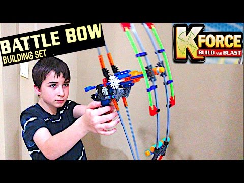 K-Force Battle Bow Building Set by K'nex with Robert-Andre