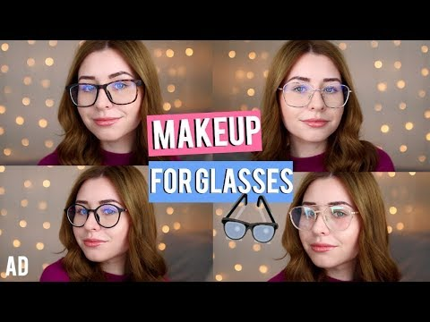 Everday Makeup Tips For Glasses Wearers! ft Zeelool Ad