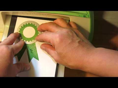 Award Ribbon embellishment-part 1