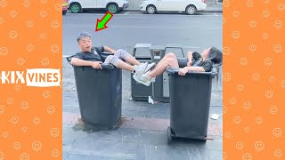 Funny videos 2021 ✦ Funny pranks try not to laugh challenge P165