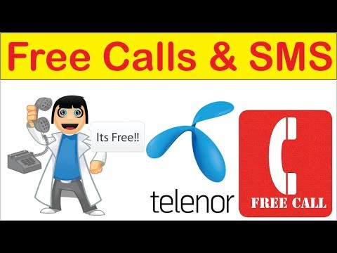 Free Calls & SMS On All Networks From Telenor || Awesome Offer 2018