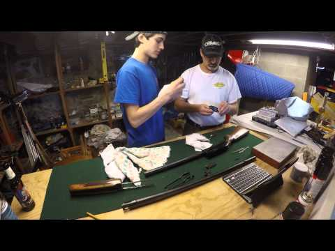 Mossberg 500 Cleaning Time Lapse! Gopro Hero 4 Silver!! Episode 2