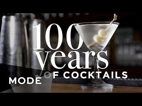 100 Years of Cocktails ★ Mode.com