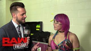"Asuka ""thanks"" Dana Brooke after their match: Raw Fallout, Nov. 20, 2017"