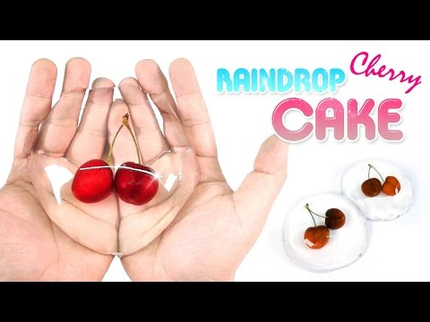 Cherry Raindrop Cake - Mizu Shingen Mochi Recipe | MonsterKids