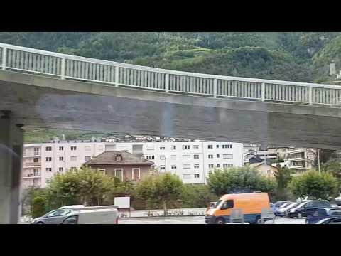 SWITZERLAND - ZERMATT TO MONTREUX BY TRAIN