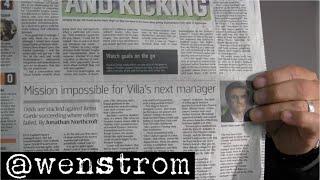 """MATCH Tottenham Hotspur vs. Aston Villa: """"Underpresterar brutalt"""""""