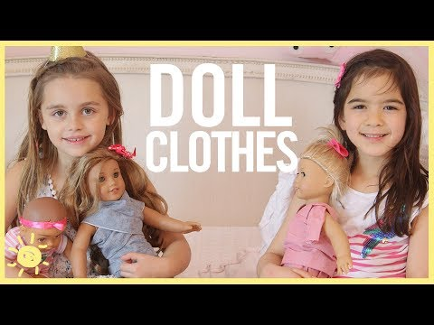STYLE & BEAUTY | DOLL CLOTHES (Easy, No Sew Tutorial!)