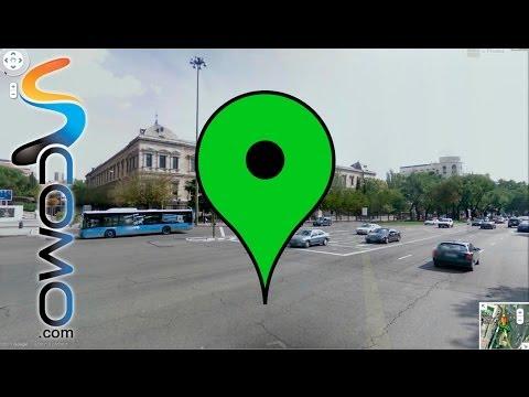 Cómo utilizar street view en el nuevo google maps