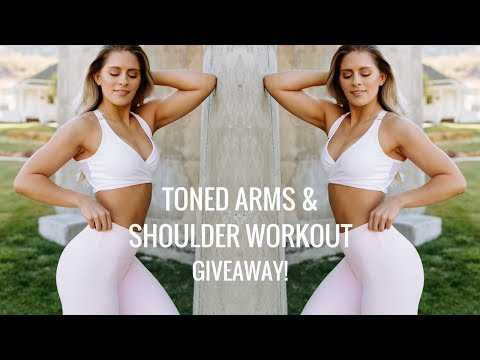 SHREDDED Shoulders and Arm Workout | WHITMAS Day 12