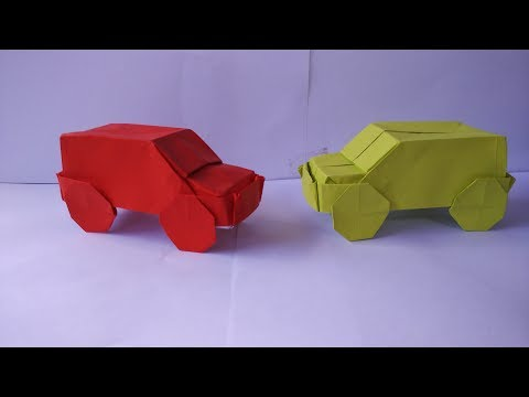 How to make an origami jeep/car ( stefan delecat )