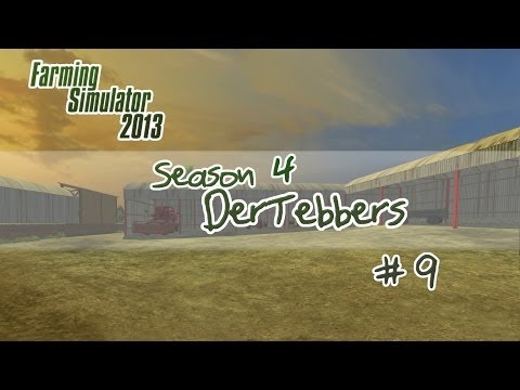 Farming Simulator 2013 - S4E9 - Harvesting Greenhouses