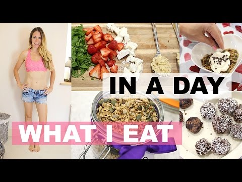 WHAT I EAT IN A DAY | TalkBeckyTalk