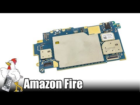 Guía del Amazon Fire: Cambiar placa base