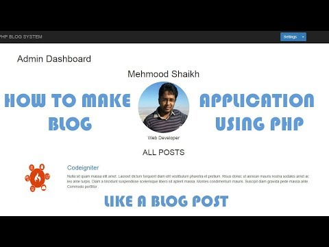PHP BLOG Application - Like a Post Part-11