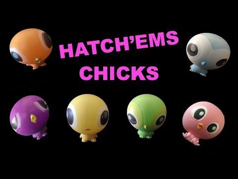 Hatch'ems Chicks Squishy Surprise Mashems