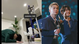 SHINee's Key expresses his gratitude towards Minho with a hilarious photo on Instagram