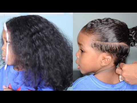TODDLER GETS FIRST HAIR CUT
