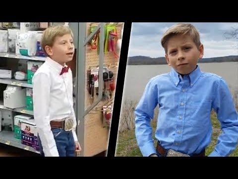 Walmart 'Yodeling' Boy Rises To FAME