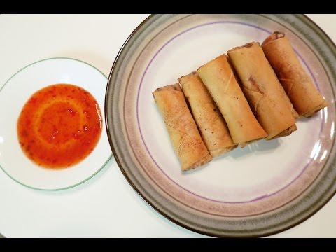 How to Make Vietnamese Egg Rolls (CHA GIO)