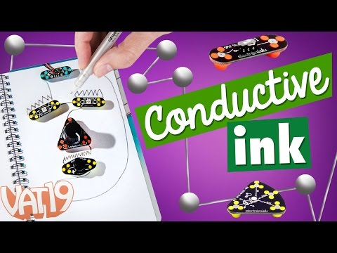Draw Circuits: Create electrical circuits with conductive ink!