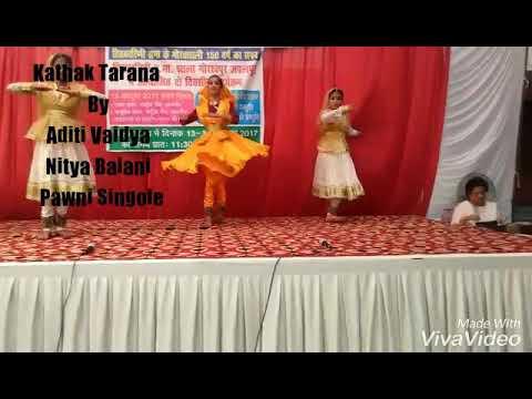 Kathak Tarana-Na Dir Dani By {Aditi, Pawni, Nitya}