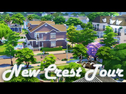 The Sims 4   World Tour   Newcrest + How I