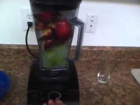 How to make Apple Juice in the Vitamix