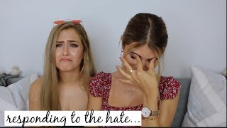 RESPONDING TO OUR HATE COMMENTS ft. Mel Joy l Olivia Jade