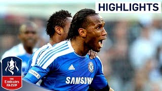 Tottenham 1-5 Chelsea - Drogba, Mata, Bale, Ramires, Lampard, Malouda   Official FA Cup highlights