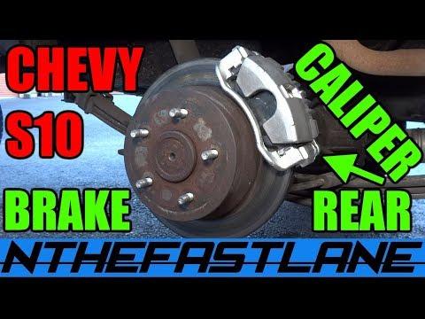 Rear Caliper Replacement S10