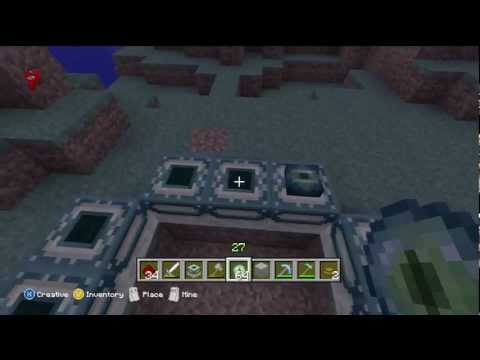 How To Build The End Portal Minecraft Xbox Edition