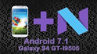 Android 7 0 para Galaxy S4 i9505/i9515 - AOSP JDCTeam/CM14 - PakVim