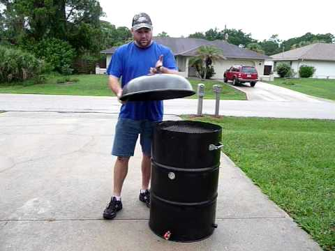 How to build an UDS Ugly Drum Smoker - BBQ