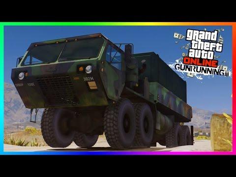 GTA Online Gunrunning To Be