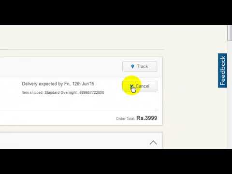 How to Cancel Flipkart Product and get Refund money