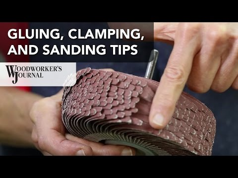 Gluing, Clamping and Sanding Tips for Small Box Parts