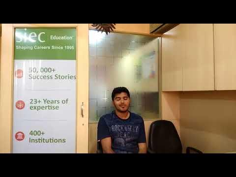 Rohan Sunderji got his Australian Study Visa within 15 days from SIEC Pune   Study in Australia