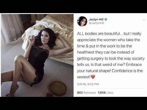 JACLYN HILL BODY SHAMES WOMEN ON TWITTER? FANS CLAP BACK