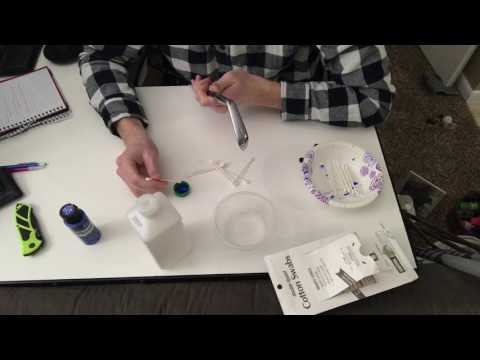 HOW TO PAINT FILL YOUR GOLF CLUBS