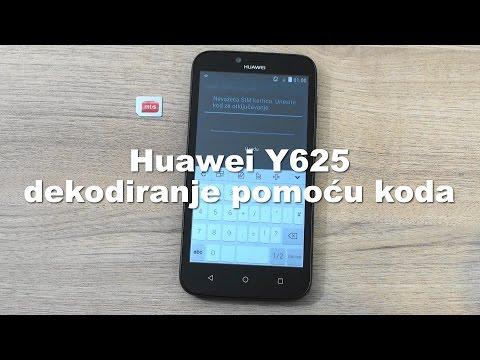 Huawei Y625 dekodiranje pomoću koda
