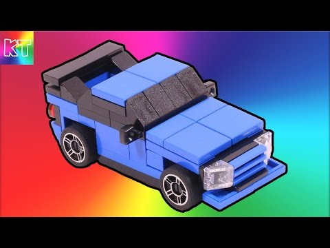 Lego Nissan GTR mini Lego Instruction Speed Build Review Cars for Kids