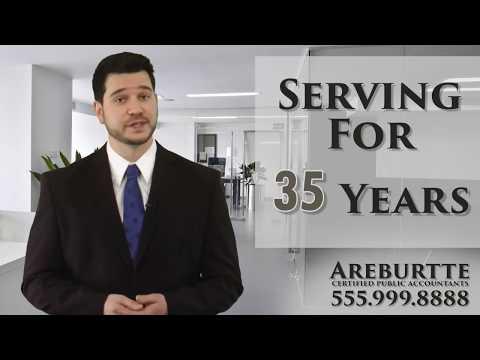 Accountants - Get your custom video today!