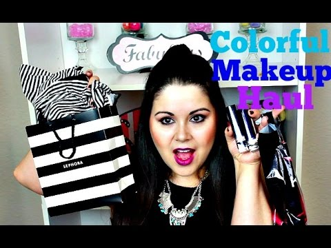 Colorful Fall Makeup Haul and Trends!!!